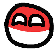 Polandball by Dyrepl