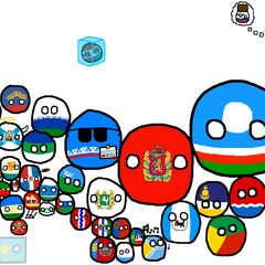 Mapa de Rusia, al estilo Polandball