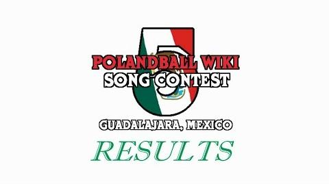 Polandball Wiki Song Contest 5 Results Video