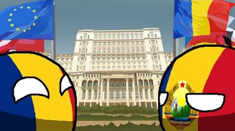 Polandball modern history of Romania