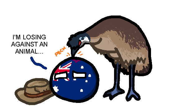the great emu war polandball wiki fandom powered by wikia