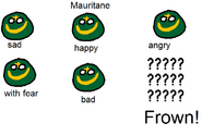 Emotions of Mauritane