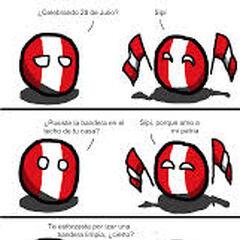Proud to be Peruvian
