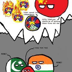 Tibet cannot into independence (like <a class=