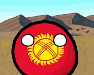 Kyrgyzstanball - Polandball Cup