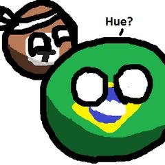 Los 7balls habitan en el noroeste de Brasilball