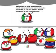 Comida Mexicana Comic