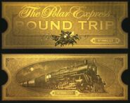 Polar Express Printable ticket
