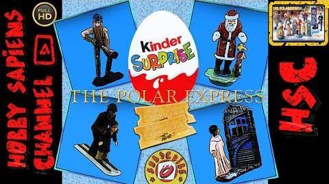The Polar Express 2004 💢 KINDER SURPRISE Der Polarexpress Киндер сюрприз коллекции Полар экспресс