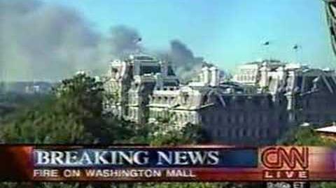 9 11 01 - CNN Live Coverage Pentagon Attack