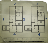 The Wolcott Projects Building Map