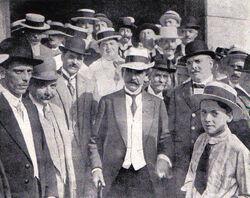 Gare da Central - Retorno de São Paulo - 1915
