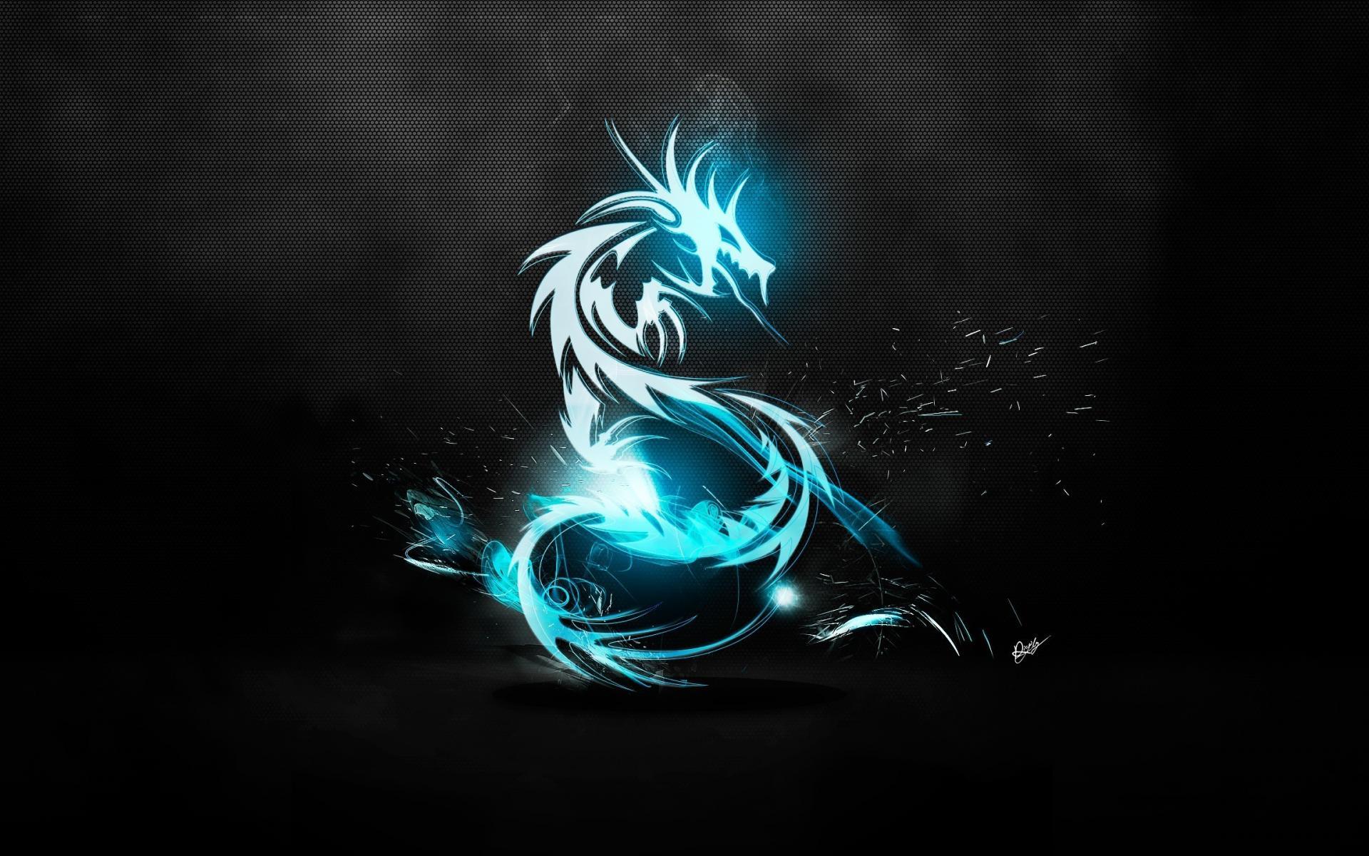 Blue Dragon Art Wallpaper  Jpg