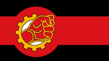 Flag of The Socialist Workers State of Blanovalia