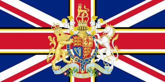 The British Empire Flag