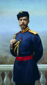 Tsar Nicholas II 12 w-Order of St. Vladimir