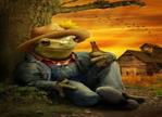 Frog farmer