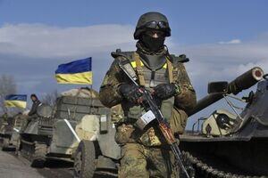 Ukranian soldier
