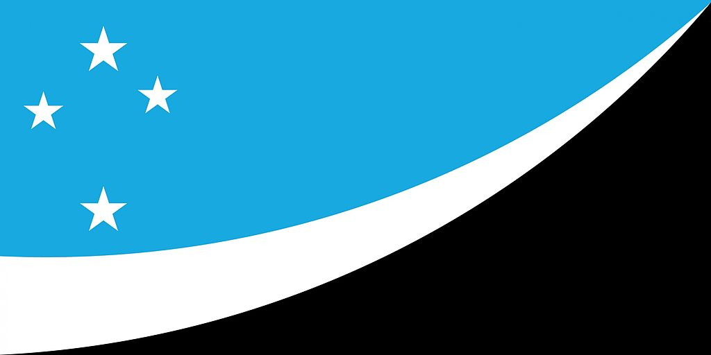 Image - NZ flag design Land Of The Long White Cloud (Ocean Blue) by ...