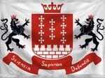 The Hanseatic League Flag