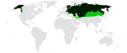 Russian Empire at its greatest extent (1866)