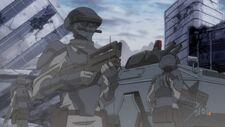 Brit army