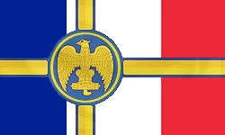 Impérial Empire du France Flag