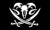 Pirate Sheep Flag
