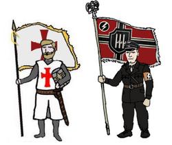 Iron Knight's Brotherhood Banner