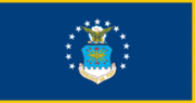 Flag of the United States Air Force (with fringe)