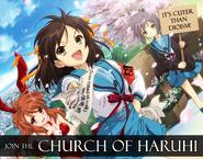 Church of Haruhi Ad