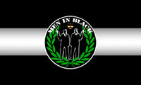 Men in Black Flag