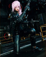 Final fantasy xiii human revolution by le arc 7thheaven