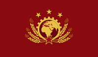 Socialist International Flag