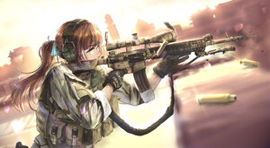 Call of Duty Black Ops III Anime-Style