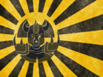 Nuclear Knights Flag