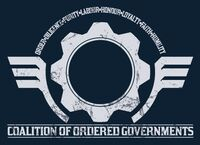 Coalition of Ordered Governments Flag