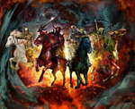 Horsemen Flag