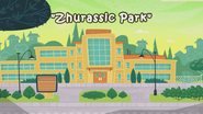 Zhurassic Park title card