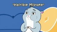 Hairible Mistake title card