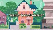 Happy Bounciversary title card