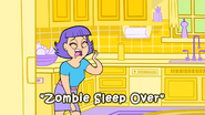Zombie Sleep Over title card