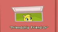 Friendship Friendzy Title Card