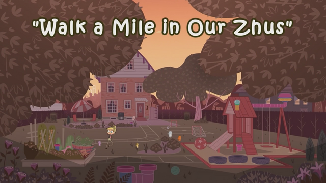 File:Walk a Mile in Our Zhus title card.png
