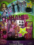 Polly Pocket Rock 'n Pop Concert Stage Shani