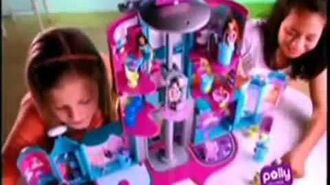2008 Polly Pocket Mega Mall Playset Commercial (English Dub)