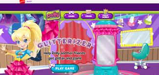 Current Polly Pocket website
