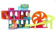 Polly Pocket Relaxin' Resort Rock n Roller Coaster Hotel