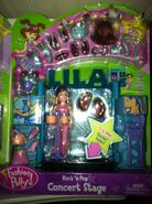 Polly Pocket Rock 'n Pop Concert Stage Lila