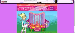 Polly Pocket website 2007 winter